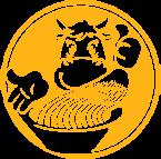 98 La La Noodle  logo